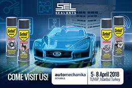 Otomotiv ürünlerimizle Istanbul Automechanika'dayız!