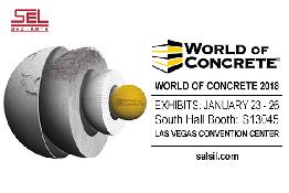 Las Vegas World of Concrete 2018'deyiz!