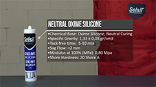 How to apply Selsil Neutral Oxime Silicone?