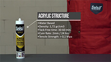 How to apply Selsil Acrylic Structure Sealant?