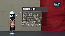 How to apply Selsil Wood Sealant?