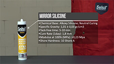 How to apply Selsil Mirror Silicone?