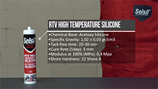 How to apply Selsil RTV High Temperature Silicone?